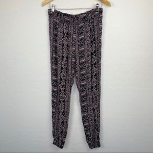 Artisan NY sleepwear boho jogger sleep pants large